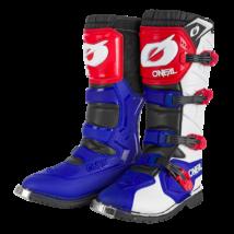 Rider PRO motocross csizma kék-piros-fehér