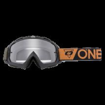 B10 Speedmetal zárt szemüveg víztiszta lencsével barna pánttal