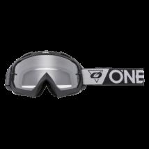 B10 Speedmetal zárt szemüveg víztiszta lencsével szürke-fekete