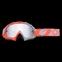 B10 Twoface zárt szemüveg ezüst tükrös lencsével szürke-narancs