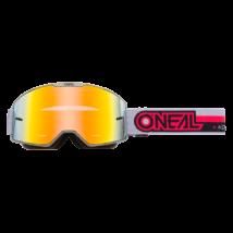 B20 Proxy zárt szemüveg tükrös lencsével szürke