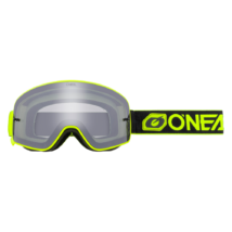 B50 Force krossz szemüveg ezüst tükrös lencsével neon sárga