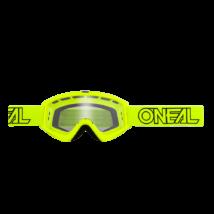 B-Zero krossz szemüveg neon sárga víztiszta lencsével