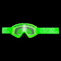B-Zero krossz szemüveg zöld víztiszta lencsével