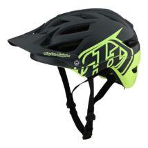 A1 MIPS kerékpár sisak szürke-zöld
