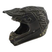 SE4 POLYACRYLITE FACTORY SZÜRKE motocross sisak