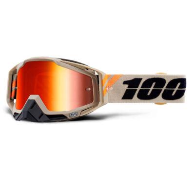 Ride 100% Racecraft Poliet krossz szemüveg tükrös lencsével - RideShop.hu