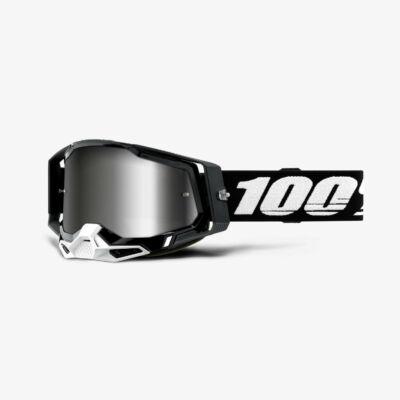 Ride 100% Racecraft 2 Black zárt szemüveg tükrös lencsével RideShop.hu