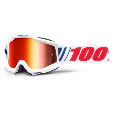 Ride 100% Accuri AF066 krossz szemüveg tükrös lencsével - RideShop.hu