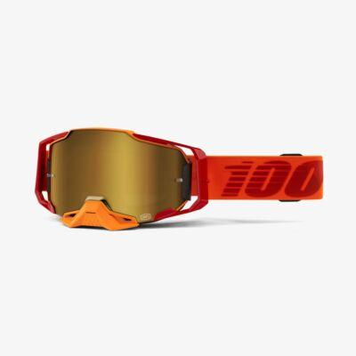Ride 100% Armega Litkit krossz szemüveg tükrös lencsével - RideShop.hu