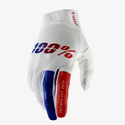 Ride 100% Ridefit Corpo kesztyű fehér - RideShop.hu