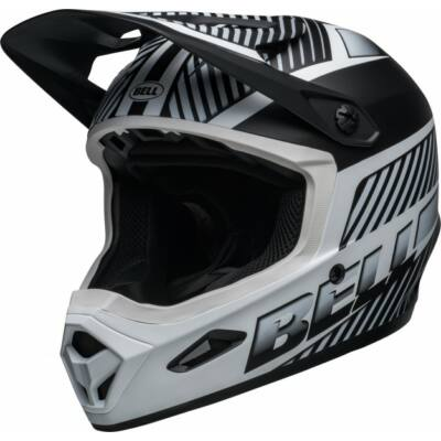 Bell Transfer fullface kerékpáros sisak matt fekete-fehér -RideShop.hu