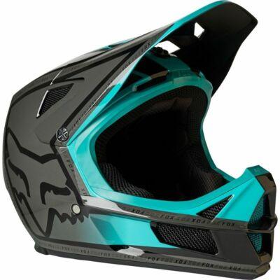 Rampage Comp MIPS kerékpáros fullface sisak fekete-zöld - RideShop.hu