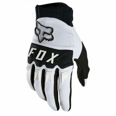 FOX Dirtpaw kesztyű 2021 fehér