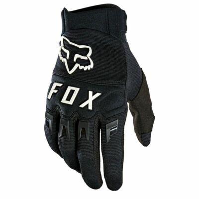 FOX Dirtpaw kesztyű 2021 fekete/fehér
