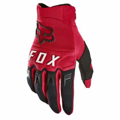 FOX Dirtpaw kesztyű 2021 piros