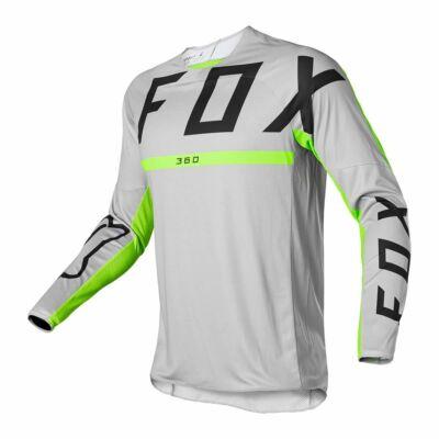 Fox 360 Merz hosszú ujjas mez szürke - RideShop.hu