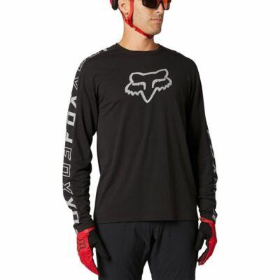 FOX Ranger Dr hosszú ujjú mez fekete - RideShop.hu