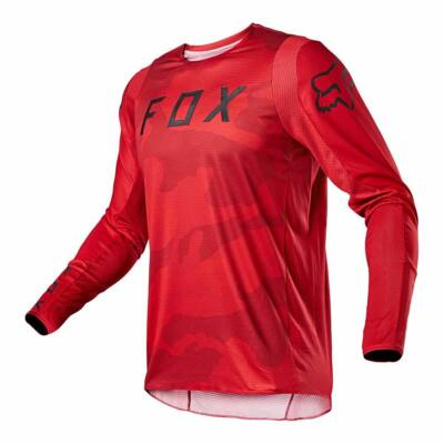 FOX 360 Speyer hosszú ujjas mez piros camo - RideShop.hu