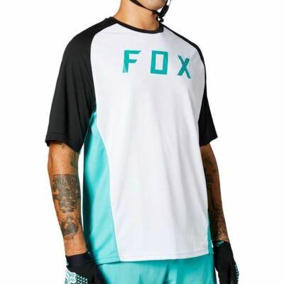 FOX Defend rövid ujjas mez zöld/fehér