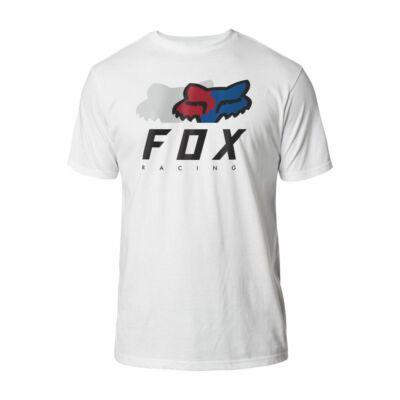 FOX Chromatic premium fehér póló