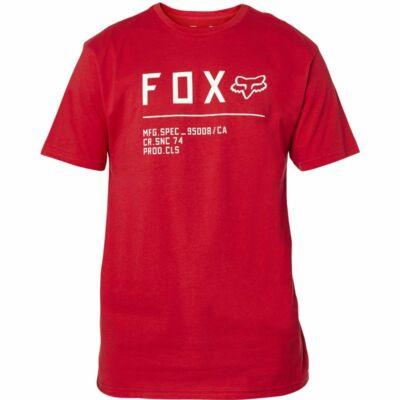 FOX Non Stop Premium póló piros