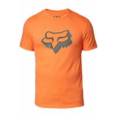 FOX Warp speed póló narancs