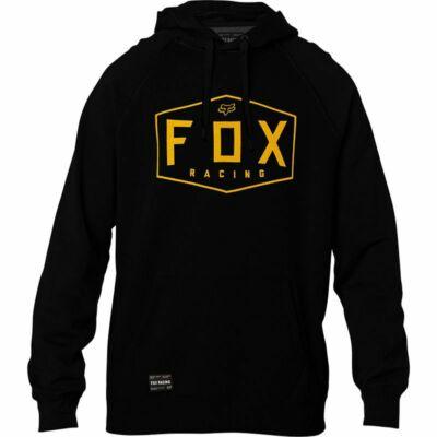 FOX Crest Fleece pulóver fekete