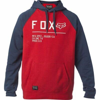 FOX Non Stop Raglan pulóver piros
