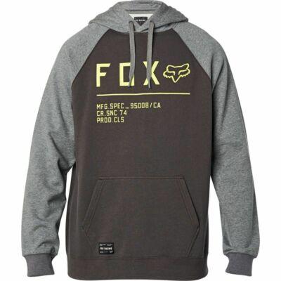FOX Non Stop Raglan pulóver szürke