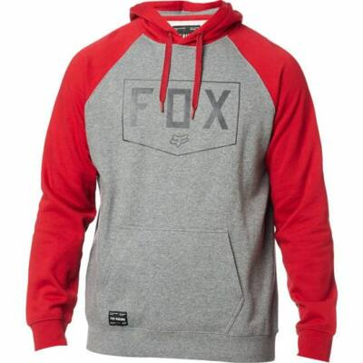 FOX Shield Raglan pulóver szürke