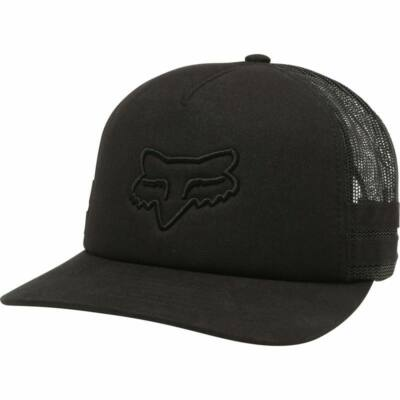 FOX Boundary Trucker sapka fekete