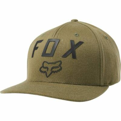 FOX Number 2 Flexfit sapka olajzöld
