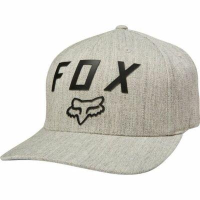 FOX Number 2 Flexfit sapka szürke/fekete