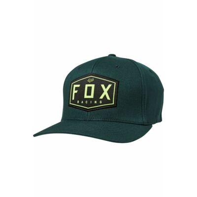 FOX Racing Crest Flexfit sapka zöld