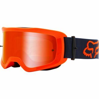 FOX Main Stray zárt szemüveg tükrös lencsével fluo narancs - RideShop