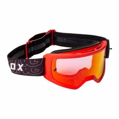 Fox Main Peril zárt szemüveg fluo piros tükrös lencsével - RideShop.hu