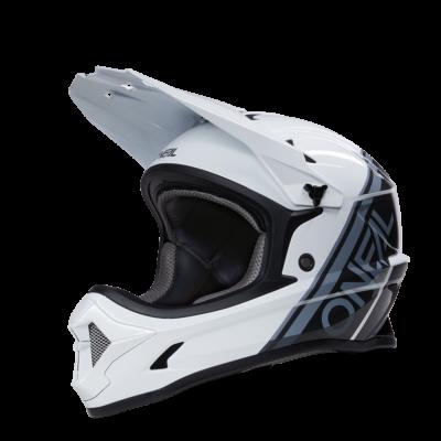 ONeal Sonus Split kerékpáros fullface sisak fekete-fehér - RideShop.hu