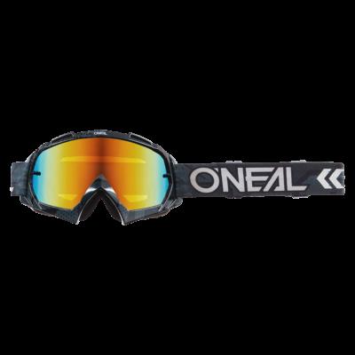 Oneal B10 Camo V22 fekete zárt szemüveg tükrös lencsével - RideShop.hu