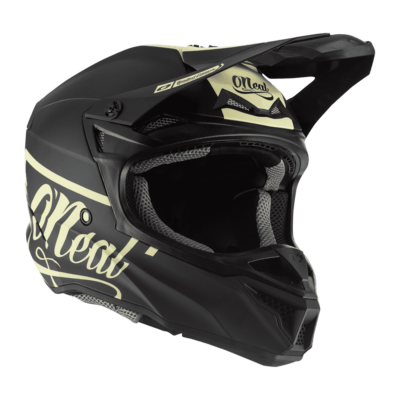 Oneal 5series Reseda limitált motocross sisak fekete - RideShop.hu