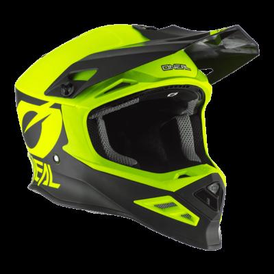 Oneal 8series 2T motocross sisak neon sárga - RideShop.hu webshop
