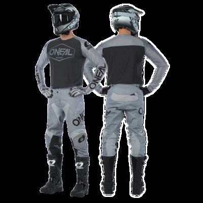 ONEAL Mayhem 2020 Hexx krossz szett (nadrág+mez) szürke