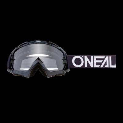 B10 Pixel zárt szemüveg víztiszta lencsével fekete-fehér