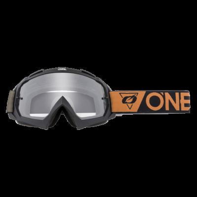 B10 Speedmetal zárt szemüveg víztiszta lencsével barna