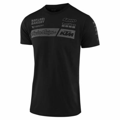 Troy Lee Designs KTM Team póló fekete - RideShop.hu